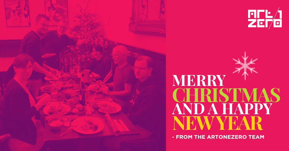 Merry Christmas from all of us at Artonezero.